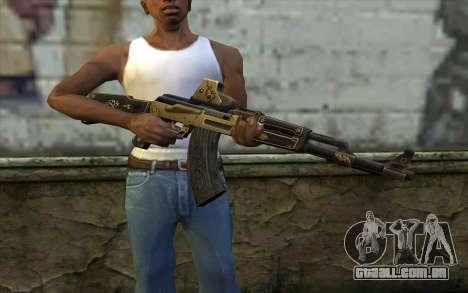 AK47 from PointBlank v2 para GTA San Andreas terceira tela