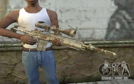 M14 EBR Digidesert para GTA San Andreas terceira tela