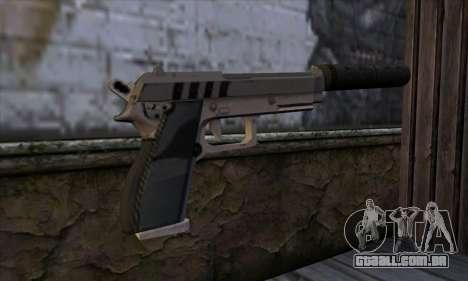 Silenced Pistol from GTA 5 para GTA San Andreas segunda tela