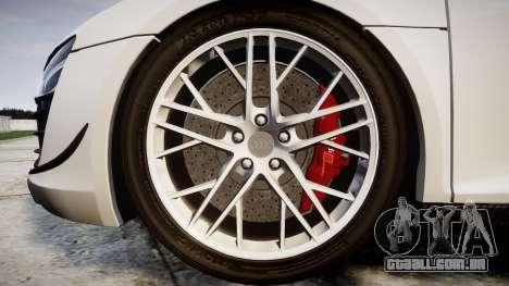 Audi R8 LMX 2015 [EPM] Carbon Series para GTA 4 vista de volta