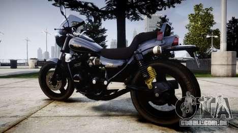Kawasaki Eliminator 400SE para GTA 4 esquerda vista
