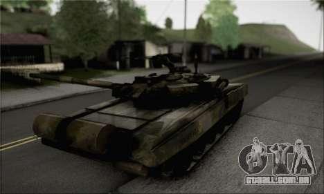 PT-91M Pendekar Tank para GTA San Andreas esquerda vista