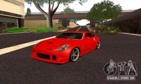 Nissan 350Z Tune para GTA San Andreas