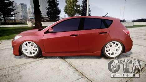 Mazda 3 MPS para GTA 4 esquerda vista