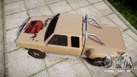 Vapid Bobcat Desert para GTA 4 vista direita