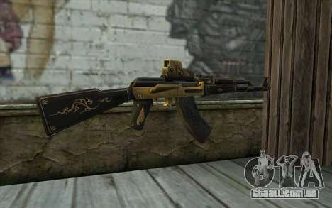 AK47 from PointBlank v2 para GTA San Andreas segunda tela