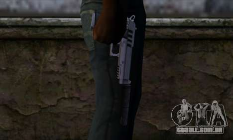 Silenced Pistol from GTA 5 para GTA San Andreas terceira tela