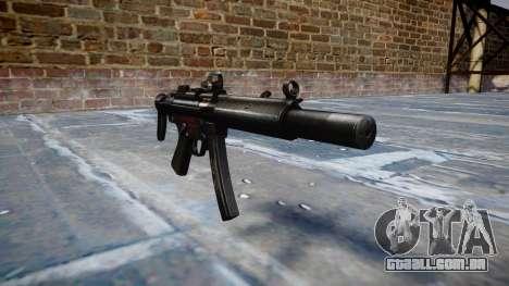 Arma MP5SD DRS CS b-alvo para GTA 4