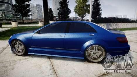 Benefactor Schafter Mercedes-Benz para GTA 4 esquerda vista