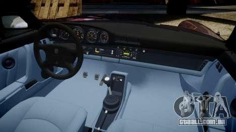 Porsche 911 (964) Targa para GTA 4 vista interior