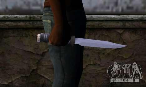 Faca longa para GTA San Andreas terceira tela