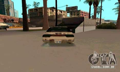 Nissan 240SX Rusted para GTA San Andreas vista direita