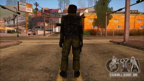 Urban from Counter Strike Condition Zero para GTA San Andreas segunda tela