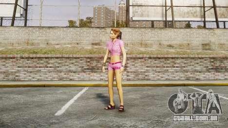 Menina do FBI para GTA 4 quinto tela