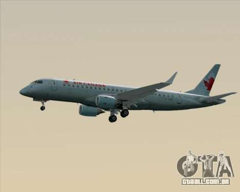 Embraer E-190 Air Canada para GTA San Andreas vista superior