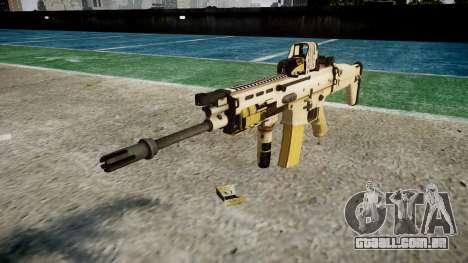 Máquina FN SCAR-L Mc 16 de destino icon1 para GTA 4