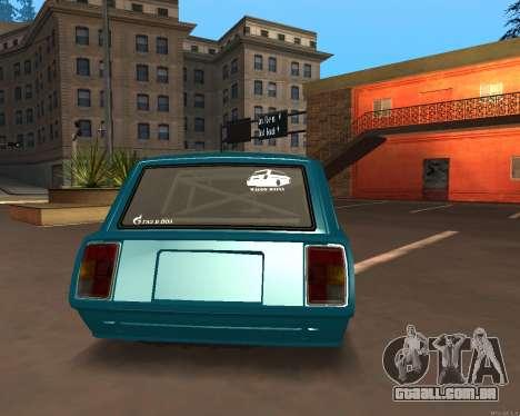 ESTES 2104 Falken para GTA San Andreas esquerda vista