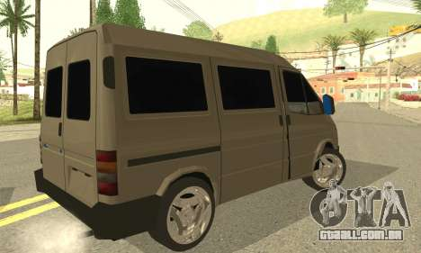 Ford Transit 1997 Medium Roof para GTA San Andreas esquerda vista