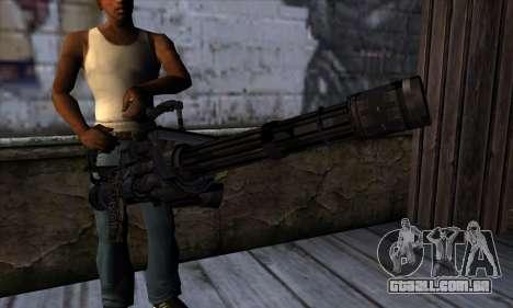 Gun Volcano v1 para GTA San Andreas terceira tela
