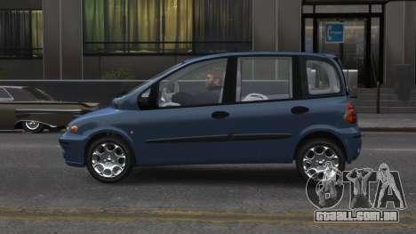 Fiat Multipla para GTA 4 esquerda vista