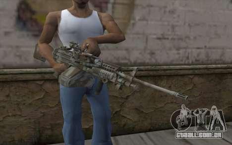 Minigun MK48 para GTA San Andreas terceira tela