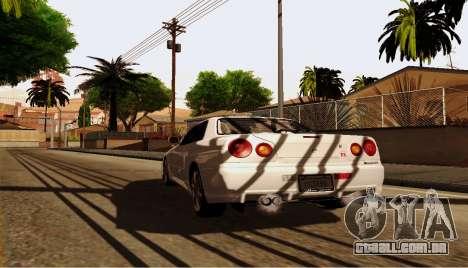ENB para computadores fracos para GTA San Andreas sétima tela