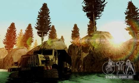 Pista de off-road 4.0 para GTA San Andreas por diante tela