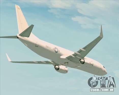 Boeing P-8 Poseidon US Navy para GTA San Andreas vista interior