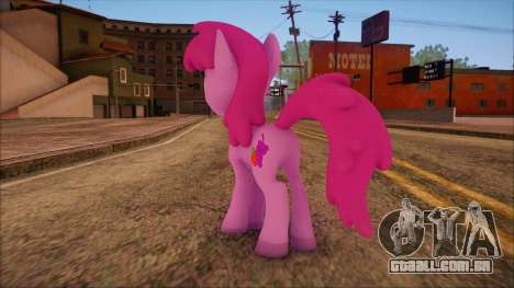 Berrypunch from My Little Pony para GTA San Andreas segunda tela