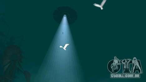 UFO sobre San Andreas para GTA San Andreas sétima tela
