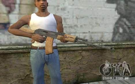 AK-74 Standart para GTA San Andreas terceira tela