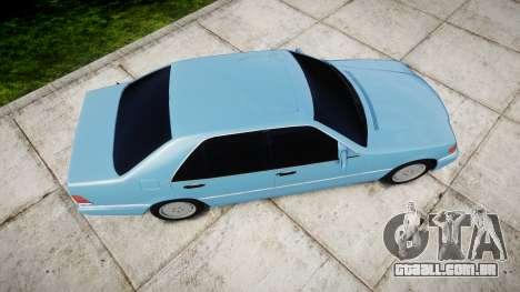 Mercedes-Benz 600SEL W140 para GTA 4 vista direita