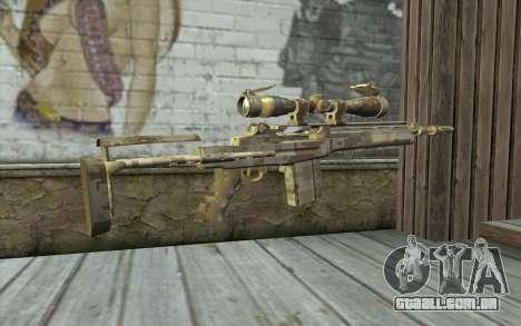 M14 EBR Digidesert para GTA San Andreas segunda tela