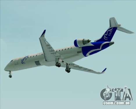 Embraer CRJ-700 China Express Airlines (CEA) para GTA San Andreas vista inferior