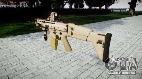 Máquina FN SCAR-L Mc 16 de destino icon3 para GTA 4 segundo screenshot