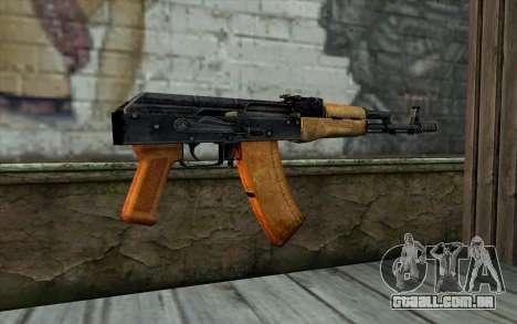 AKC74 Sem Bunda para GTA San Andreas segunda tela