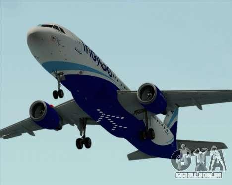 Airbus A320-200 IndiGo para o motor de GTA San Andreas
