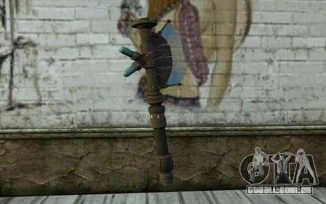 ProtonAxe From Fallout New Vegas para GTA San Andreas segunda tela