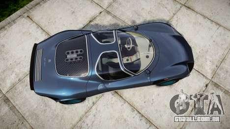 Alfa Romeo 33 Stradale para GTA 4 vista direita