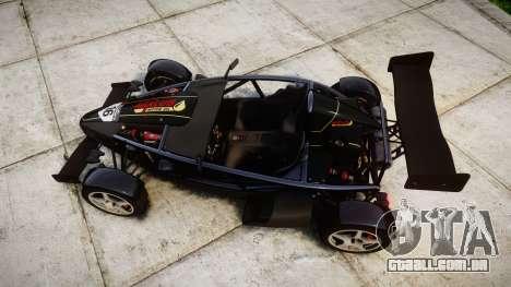Ariel Atom V8 2010 [RIV] v1.1 Mixlub para GTA 4 vista direita