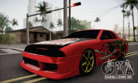 New Elegy Drift Edition para GTA San Andreas traseira esquerda vista