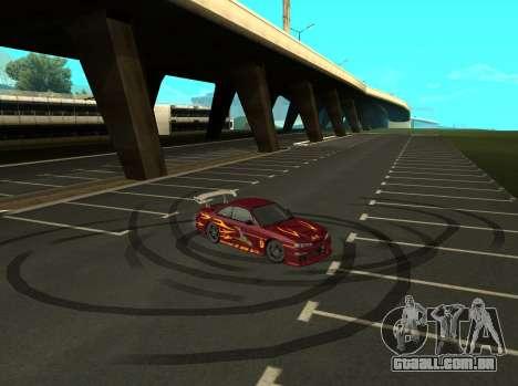 Nissan 200SX FnF1 (Letty car) para GTA San Andreas vista direita