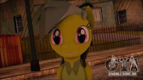 Daring Doo from My Little Pony para GTA San Andreas terceira tela
