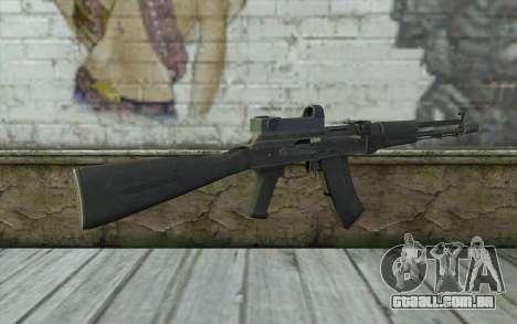 AK-107 de ARMA2 para GTA San Andreas segunda tela
