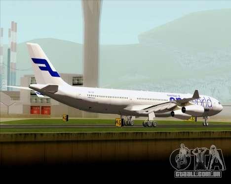 Airbus A340-300 Finnair (Oneworld Livery) para GTA San Andreas