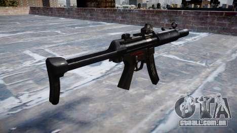 Arma MP5SD DRS FS b-alvo para GTA 4 segundo screenshot