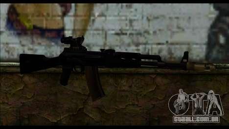 AK-101 ACOG para GTA San Andreas
