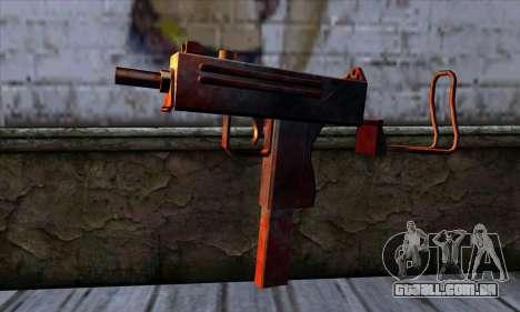 Micro-Uzi v2 Rusty-sangrento para GTA San Andreas