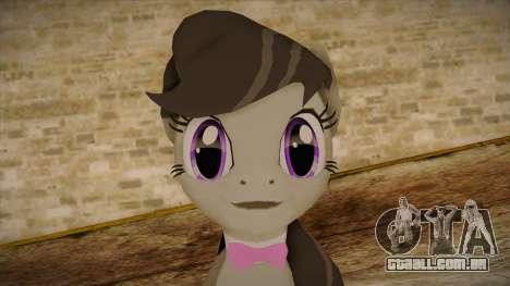 Octavia from My Little Pony para GTA San Andreas terceira tela