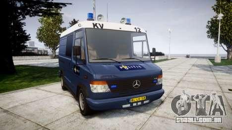 Mercedes-Benz Vario 614D SWAT [ELS] para GTA 4